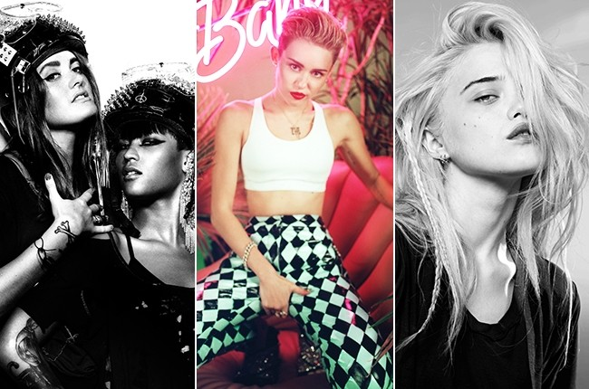 Miley Cyrus Announces All Female 'Bangerz' Tour Support Acts