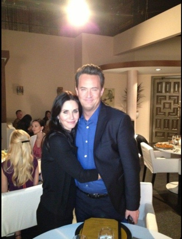 The Bings Reunited: Matthew Perry To Appear On Courtney Cox's Cougar Town