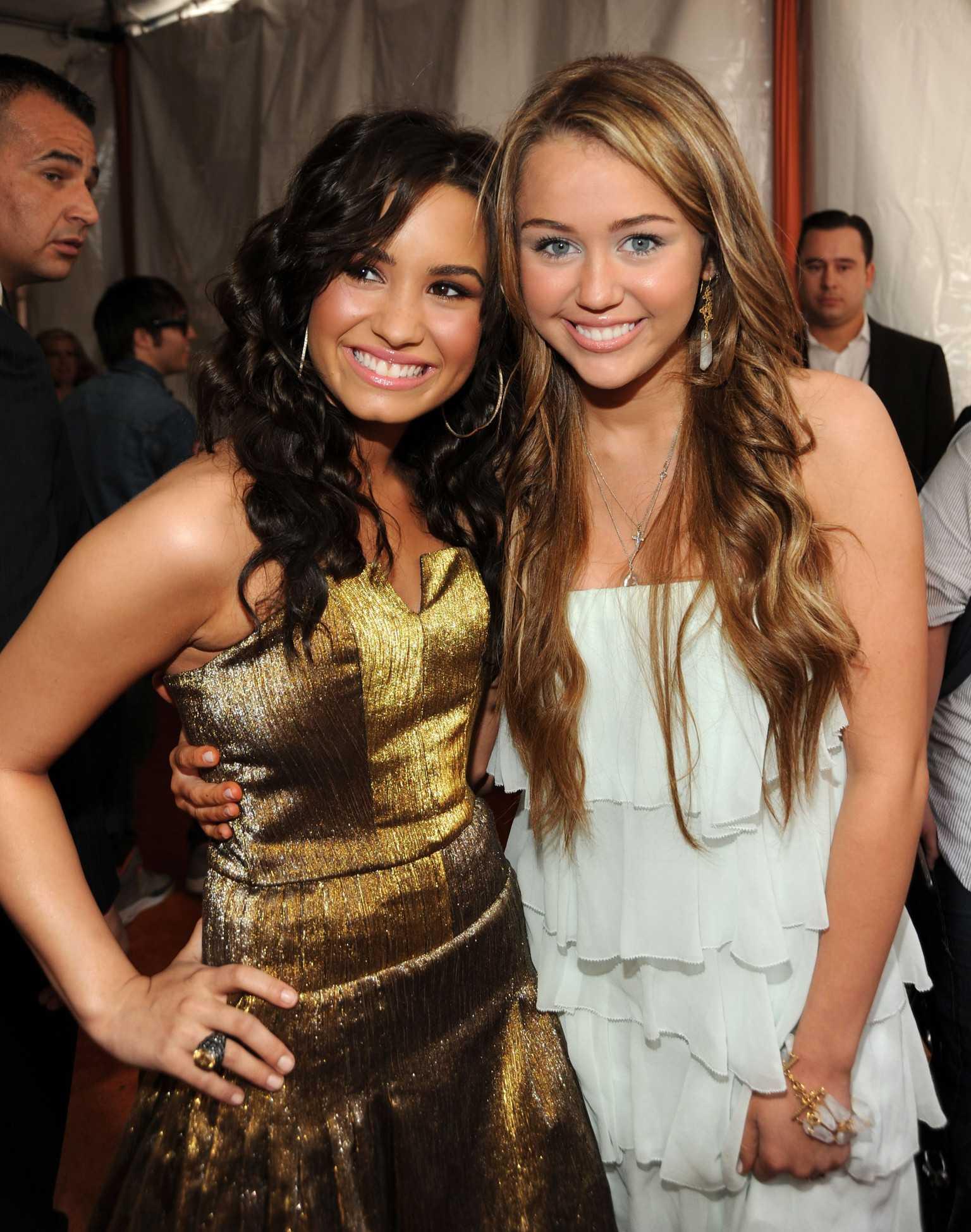 Demi Lovato Talks Miley Cyrus,