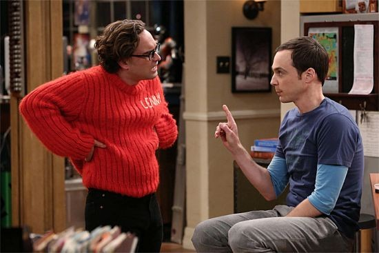 Leonard Gets Hot Under The Collar In The Latest Episode Of The Big Bang Theory