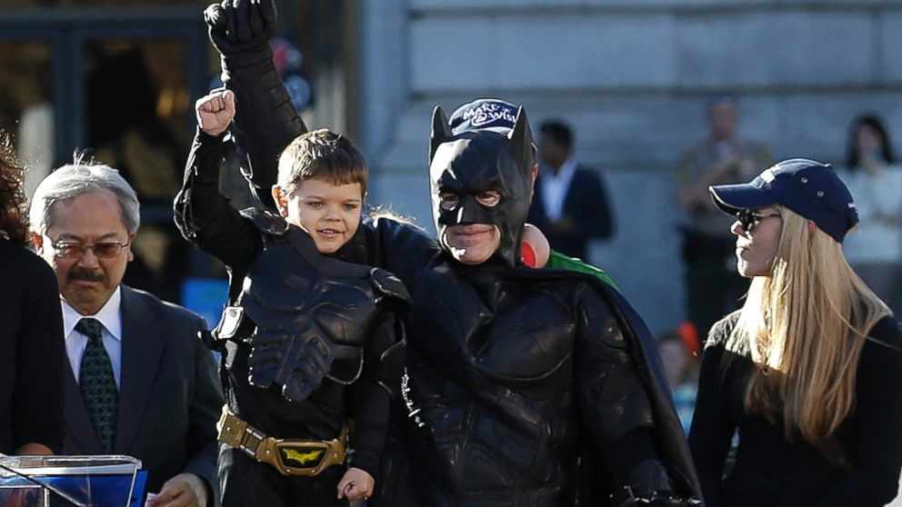 Batkid Hits The Streets Saving San Francisco
