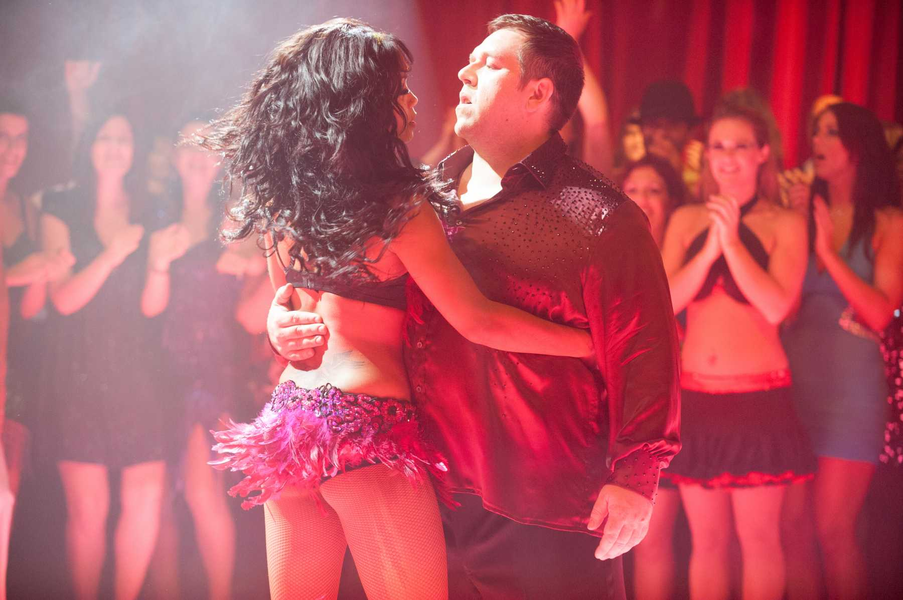 Nick Frost Dancing in Cuban Fury Trailer