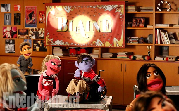 First Look As Glee Takes On Puppets This Thanksgivings Day