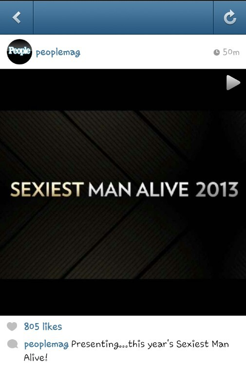 People Magazine Leaves Tongues Wagging With Their Short Clip Teasing 2013's Sexiest Man Alive