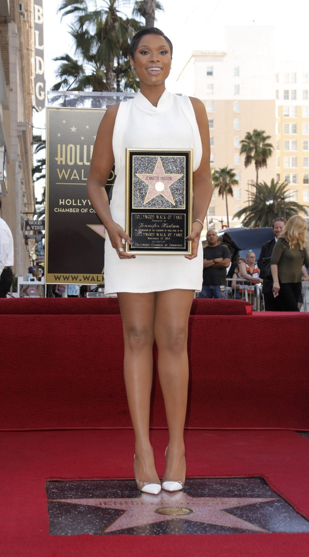 Jennifer Hudson To Get A Star On The Hollywood Walk Of Fame