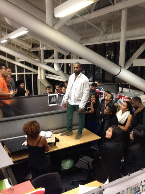 Kanye West Crashes Harvard To Give A Lecture On Architecture