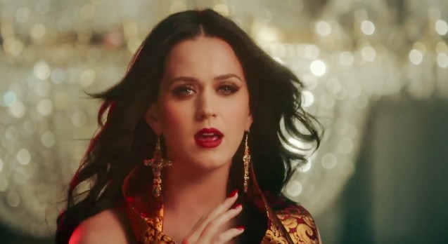 Katy Perry Brings the Fire And Ice in New