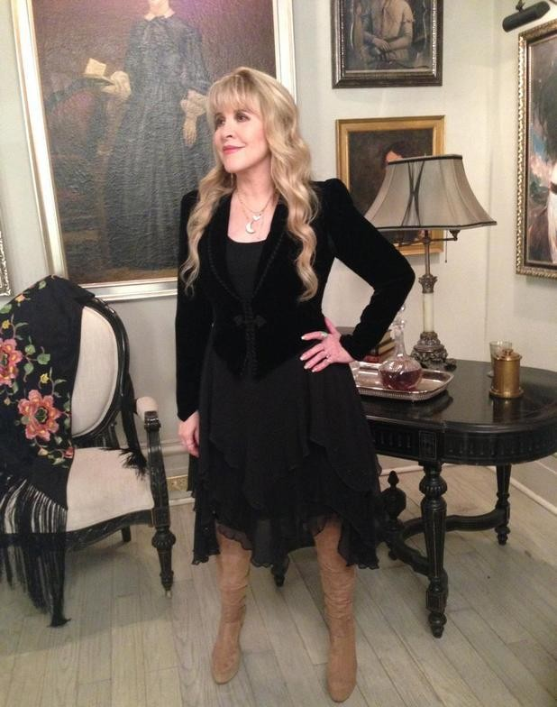 First Look: Steve Nicks Gets Witched Up For Guest Spot On American Horror Story: Coven