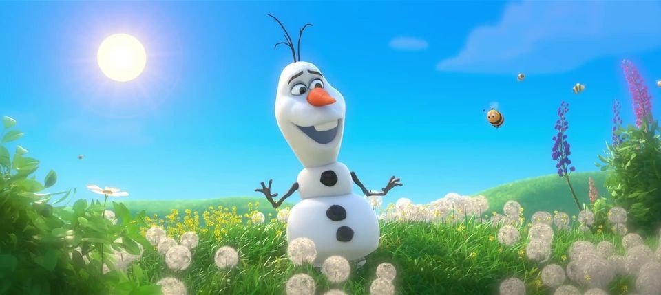 Olaf The Snowman Sings His Song Of Summer From The New Disney Film Frozen