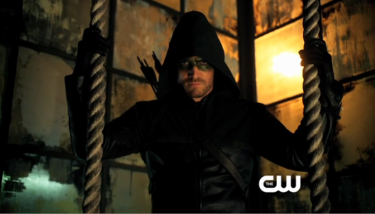 Arrow Hero Oliver Queen Gets a Mask