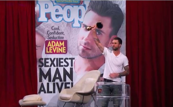 Adam Levine Says Sexiest Man Alive Award Means