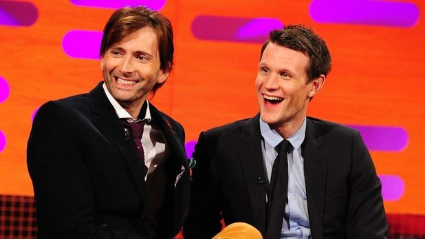 David Tennant and Matt Smith To Appear On Graham Norton Ahead Of The Day Of The Doctor