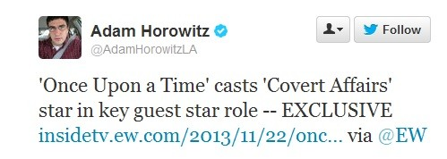 Christopher Gorham To Guest Star In Key Role On Once Upon A Time