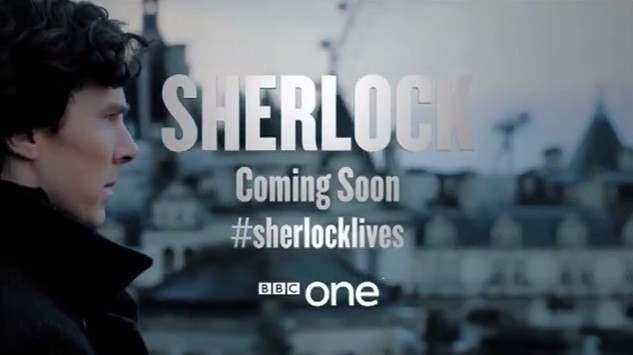 #SherlockLives: New Trailer Released For Sherlock Season 3