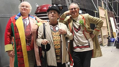 Peter Davison Brings Classic Doctors Back For Their Own Anniversary Celebration