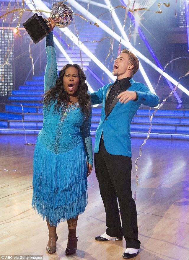 Glee's Amber Riley Crowned Dancing Queen