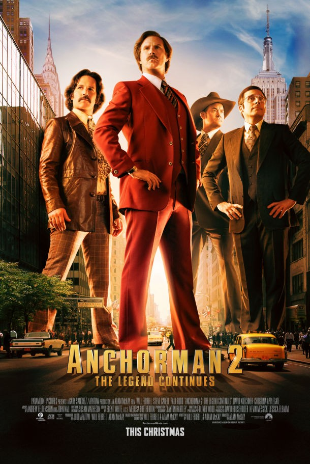 Anchorman 2 To Hit Cinemas Two Days Early