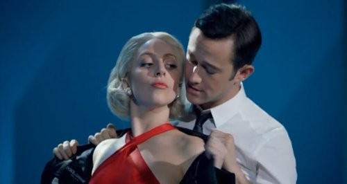 Lady Gaga and Joseph Gordon-Levitt Duet During Gaga's Holiday Spectacular
