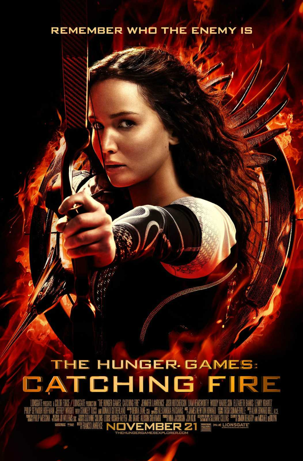 Catching Fire Still Leading The Way At The Box Office