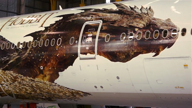 Air New Zealand Unveils Latest The Hobbit Boeing Plane