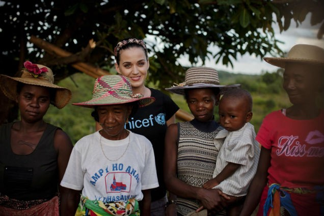 Katy Perry Named UNICEF's Newest Goodwill Ambassador