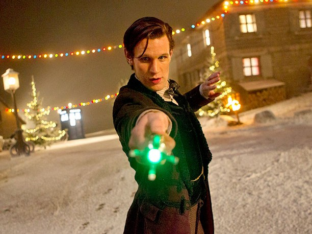 Doctor Who Releases Images From Matt Smith's Last Ride In Christmas Special