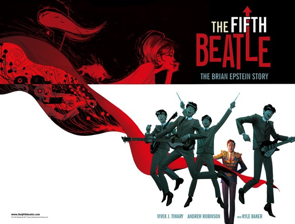 Graphic Novel About Life Of Brian Epstein,The Fifth Beatle, Heads To The Big Screen
