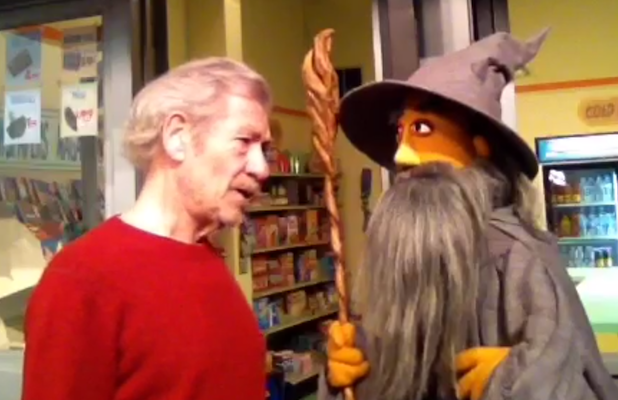 Gandalf Pays A Visit To Sesame Street And Learns A Lesson About Manners
