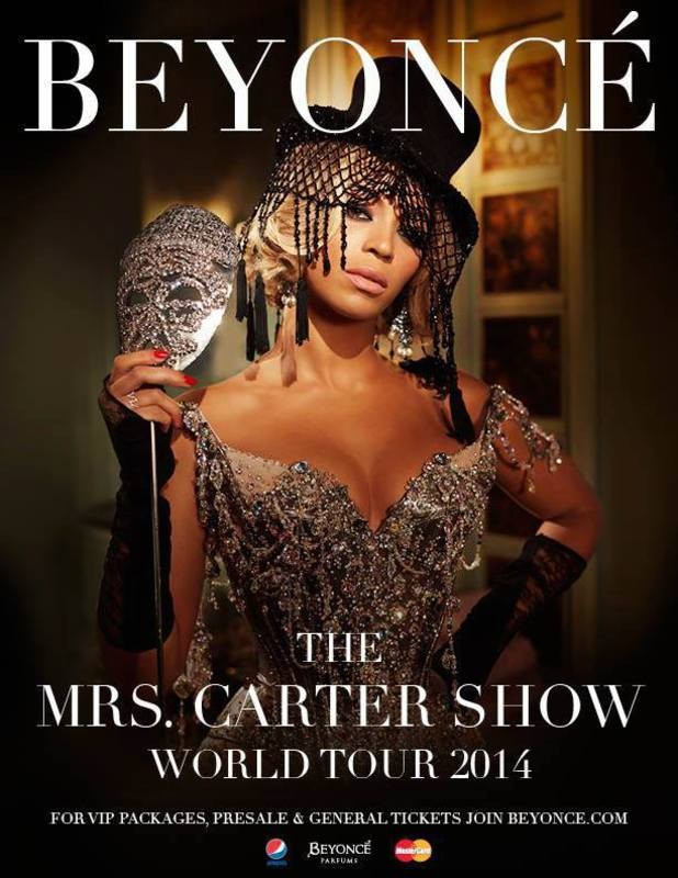 Europe Is Set For A Little More From Mrs Carter As Beyoncé Returns In 2014