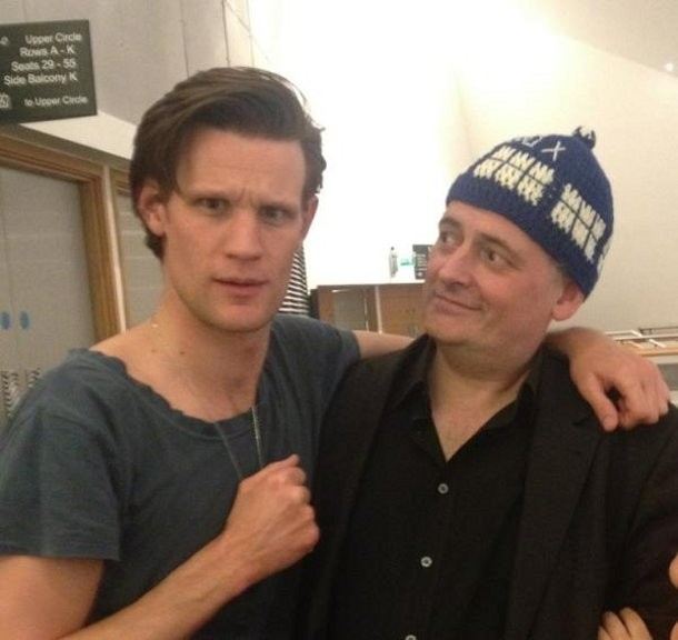 Steven Moffat's Fond Farewell to Matt Smith