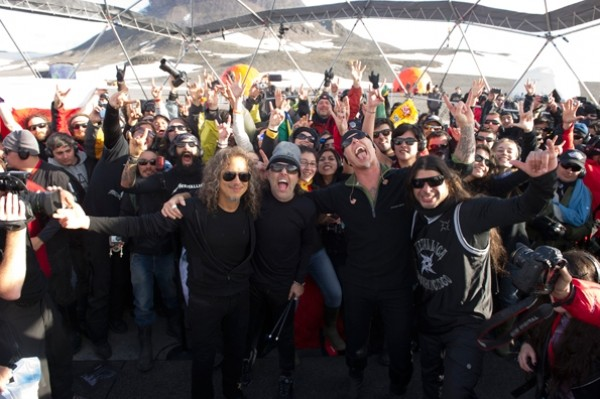 Metallica's Antarctica Concert Gives Them The Honor Of Having Performed On Every Continent