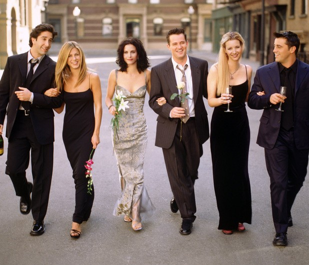 Jennifer Aniston Catches Reruns Of Friends For The Memories