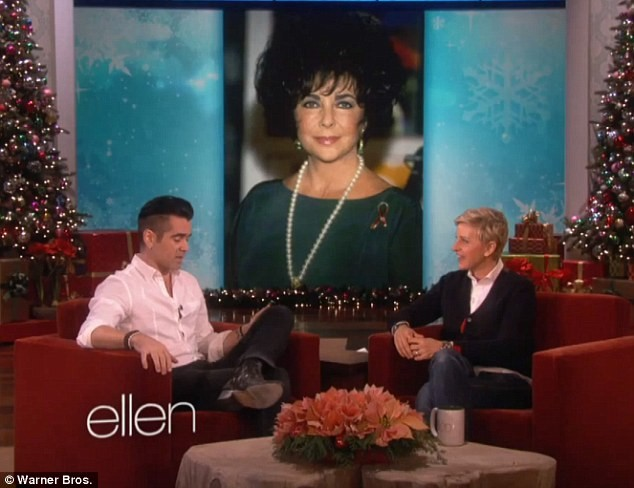 Colin Farrell Reveals He Had Romantic Relationship With Elizabeth Taylor