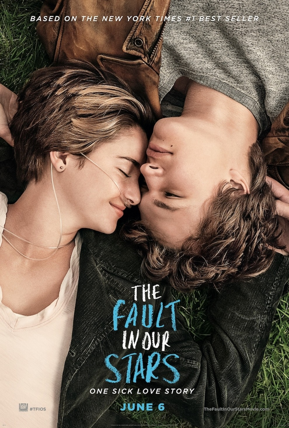 Official Movie Poster For The Fault In Our Stars Released