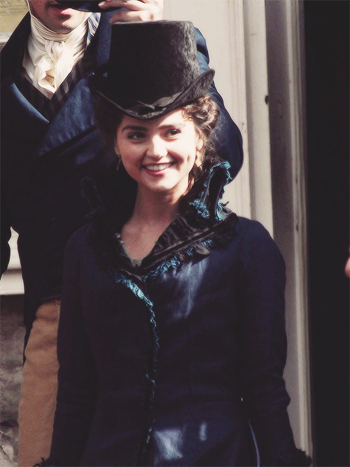 Jenna Coleman Speaks About Death Comes To Pemberley Role