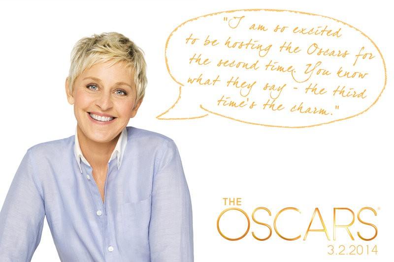 Here We Go! The Official Promo For The 2014 Oscars Is Here
