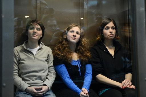 Members of Russian Punk Band Pussy Riot Released From Prison