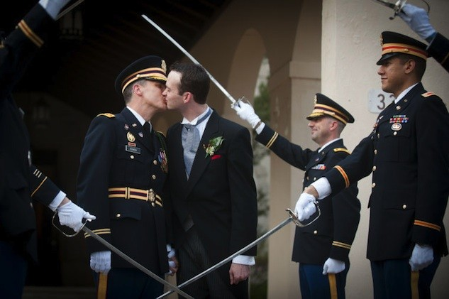 First Same-Sex Union Celebrated At Fort Bragg