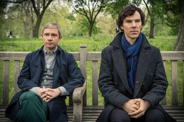 FIRST LOOK: #SherlockLives: Pictures of Sherlock's Return Hit The Web