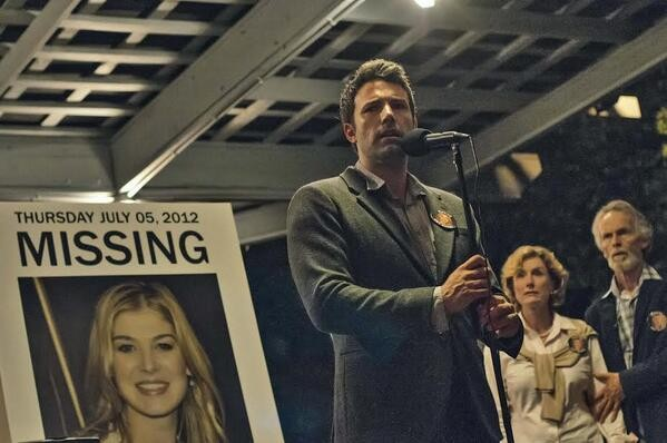 First Image Of Ben Affleck And Rosamund Pike Film Adaptation Of 'Gone Girl' Released