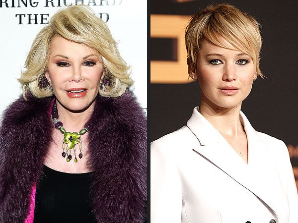 Joan Rivers New Year's Resolution is for Jennifer Lawrence to 'Grow Up'