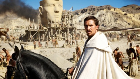 First Look: Christian Bale Gets Biblical As Moses For Ridley Scott's Exodus