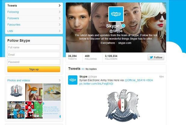 Hide Your Wife, Hide Your Kids: Skype Hacked By Syrian Electronic Army