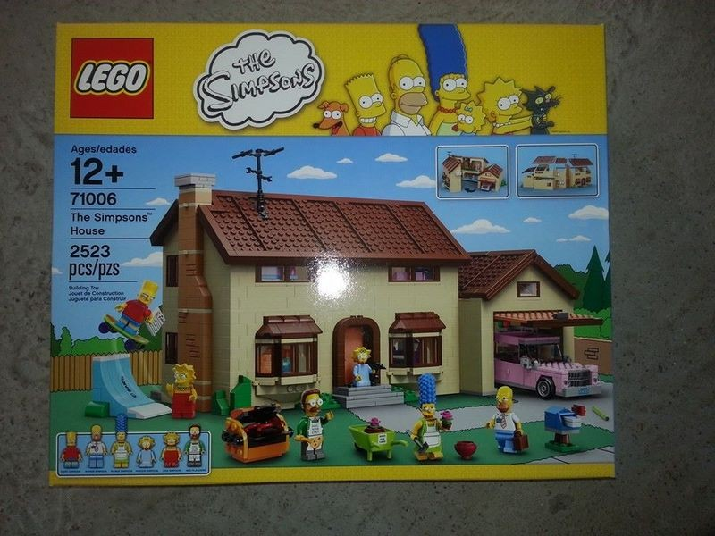 Hey-Diddly-Ho! First Picture Of LEGO's The Simpsons House Leaked
