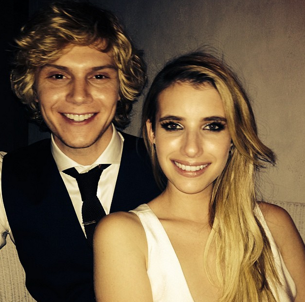 It's An American Horror Love Story: Emma Roberts And Evan Peters Are Engaged