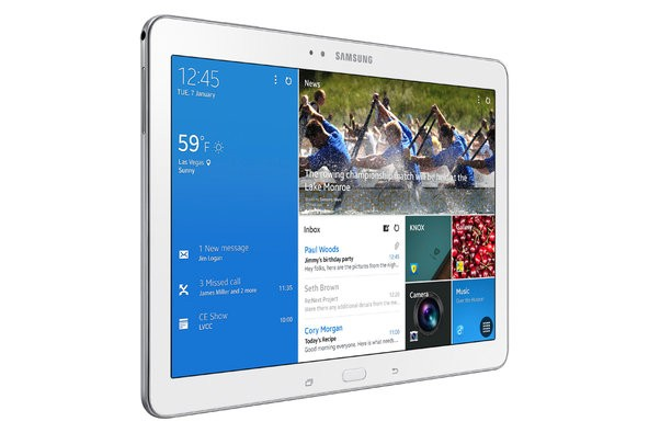 Samsung Galaxy Note Pro And Galaxy Tab Pro Revealed At 2014 International CES