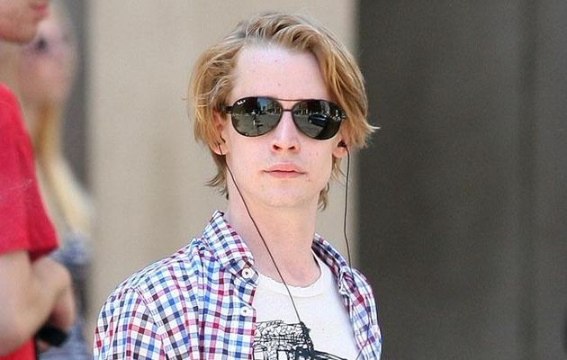 Macaulay Culkin's Band Don't Just have Pizza In Their Name It's Also On Their Faces