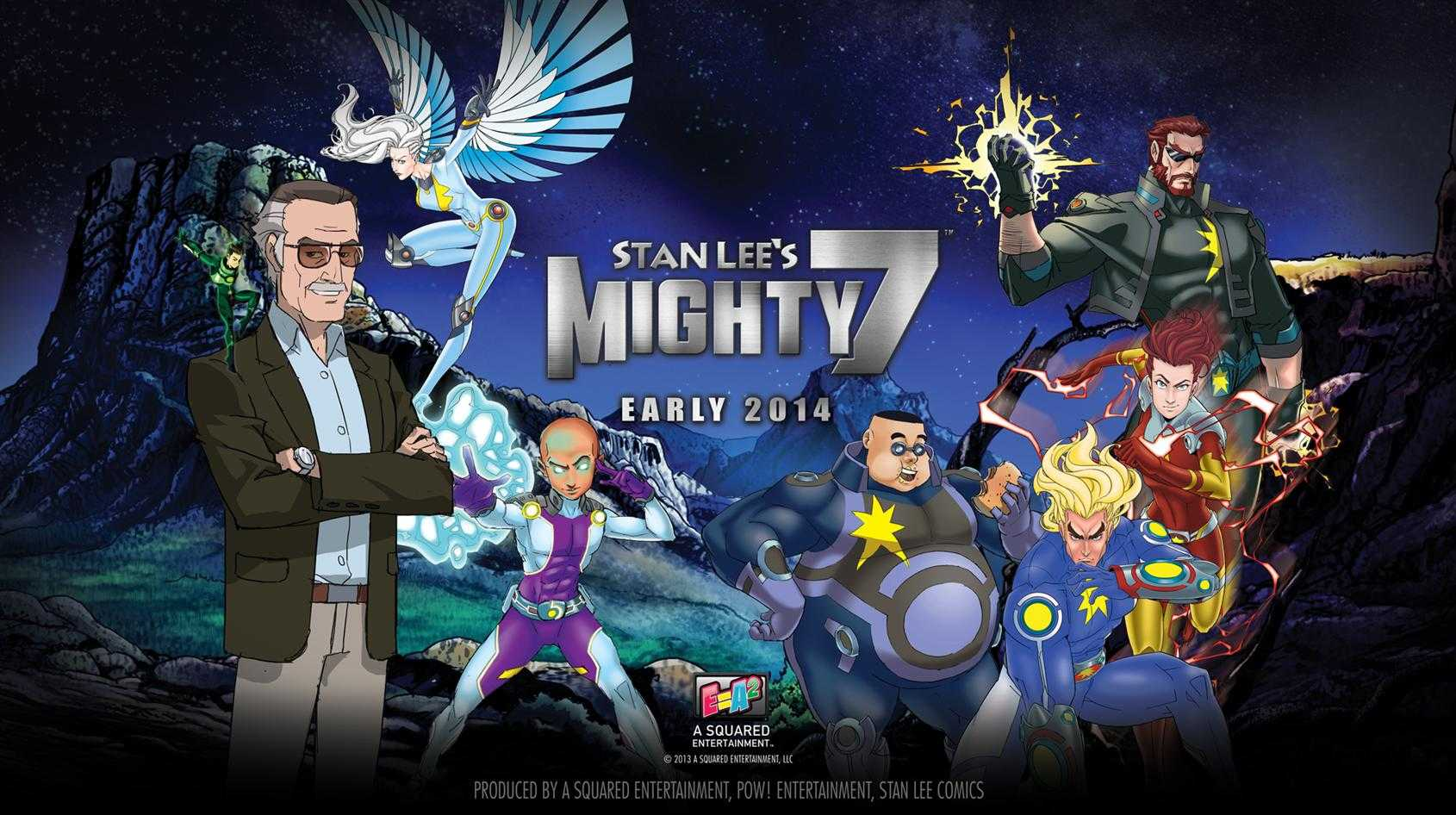 Sneak Peek: Stan Lee's Mighty Seven's All Star Cast Dominates