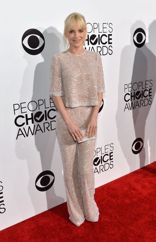 Who Was Fierce And Who Flopped On The Red Carpet At Last Night's People's Choice Awards?