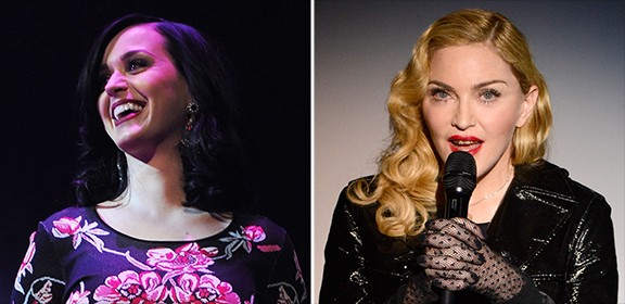 Katy Perry Joins Forces With Madonna For Art For Freedom